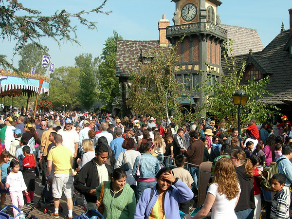Disneyland Crowds
